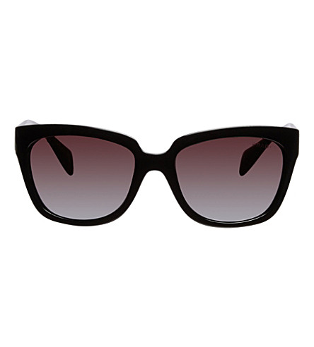PRADA Black square sunglasses (Black