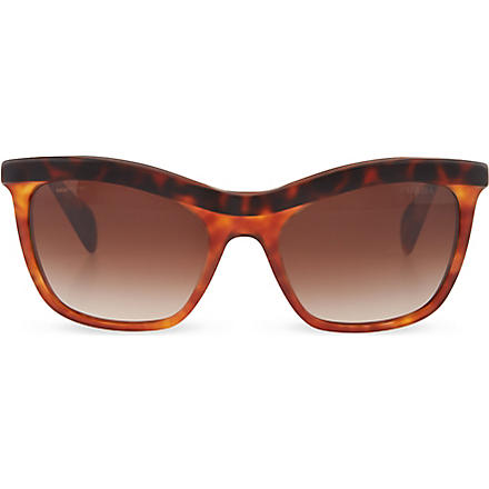 PRADA Havana cat eye sunglasses (Top+havana/light