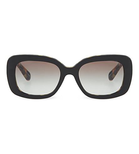 PRADA PR27O Baroque sunglasses (Top+black/medium