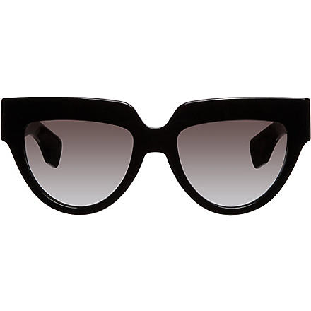 PRADA Cat-eye sunglasses (Black