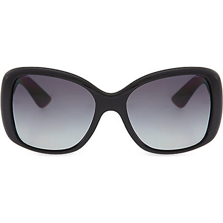 PRADA Oversized square sunglasses (Black