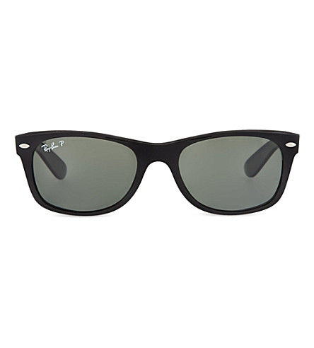 RAY-BAN Traditional black frame wayfarer sunglasses RB2132 52 (Black