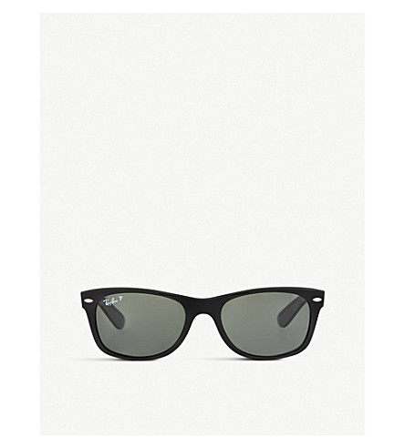 RAY-BAN Black wayfarer sunglasses RB2132 52 (Black