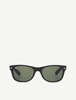 RAY-BAN Rubber Wayfarer sunglasses