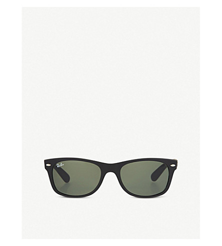 RAY-BAN Rubber Wayfarer sunglasses (Black+rubber