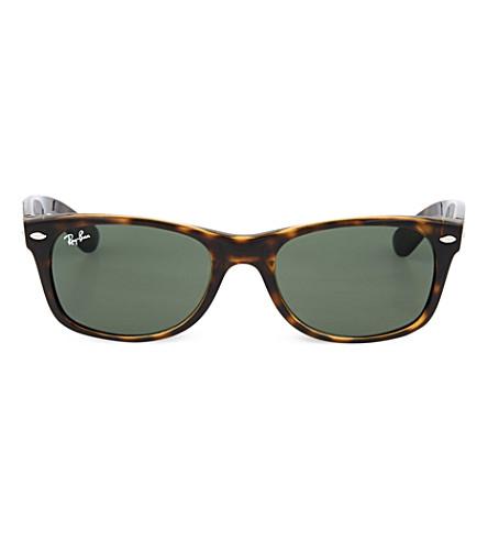 RAY-BAN Tortoiseshell wayfarer sunglasses RB2132 52 (Tortoise