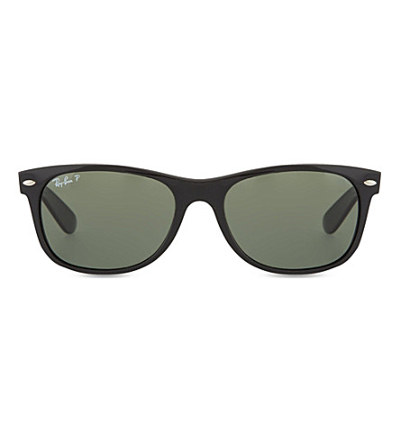 RAY-BAN Black wayfarer sunglasses RB2132 55 (Black