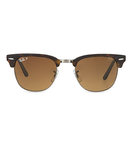 RAY-BAN Matte dark havana square sunglasses (Matte dark havana