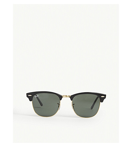 RAY-BAN Clubmaster RB3016 sunglasses (Ebony/+arista