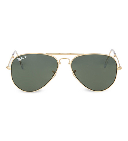 RAY-BAN Arista folding aviator sunglasses (Arista