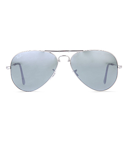 RAY-BAN Aviator folding sunglasses (Silver
