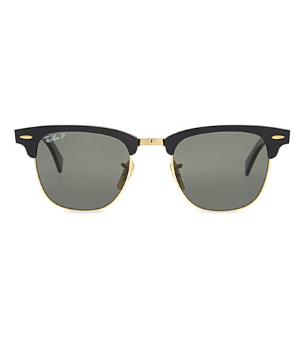 RAY-BAN RB3507 Clubmaster sunglasses (Black/arista