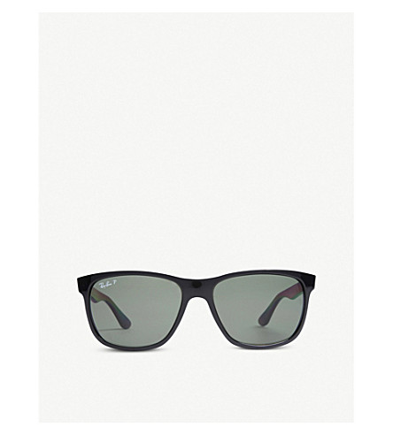 RAY-BAN Black square-frame sunglasses RB4181 57 (Black