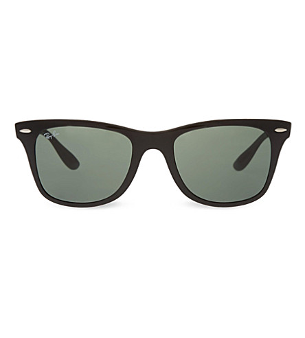 RAY-BAN Black wayfarer sunglasses RB4195 52 (Black