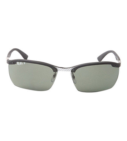 RAY-BAN RB3479 folding sunglasses (Black