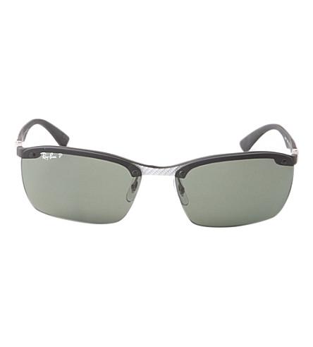 RAY-BAN RB3479 folding sunglasses (Black