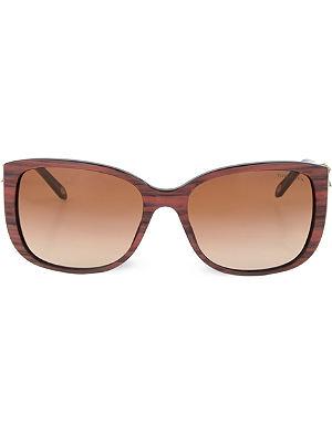 TIFFANY Brown square sunglasses