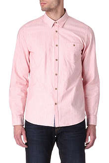 TED BAKER Ewonbee striped single-cuff shirt