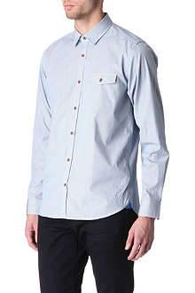 TED BAKER Micro-checked shirt