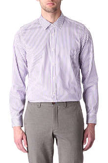 TED BAKER Redfri satin-stripe shirt