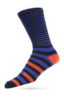 TED BAKER Block stripe socks