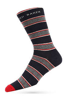 TED BAKER Highlight stripe socks