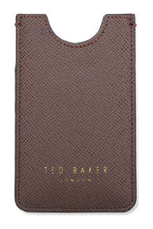 TED BAKER Cayor cross-grain iPhone case