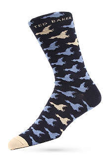 TED BAKER Bird pattern socks