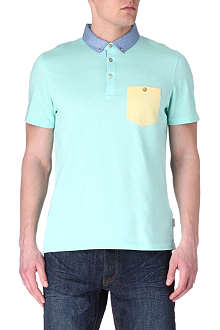 TED BAKER Contrast pocket polo