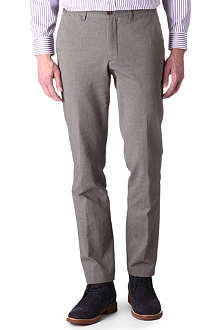 TED BAKER Ceddtro textured trousers