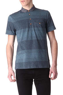 TED BAKER Wedidit curved-collar polo shirt