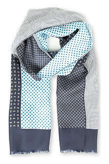 TED BAKER Mixton silk scarf