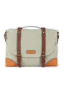 TED BAKER Drevil canvas messenger bag
