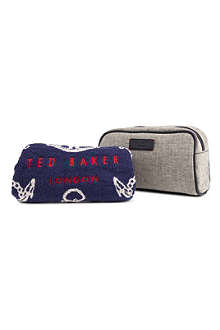 TED BAKER Kowwa wash bag and towel set