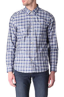 TED BAKER Statad panel check shirt