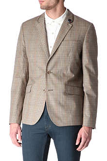 TED BAKER Cotton check blazer