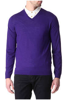 TED BAKER Classic v-neck knit