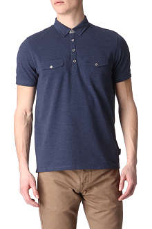 TED BAKER Double-placket polo shirt