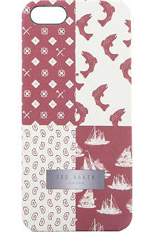 TED BAKER Atsea printed iPhone case