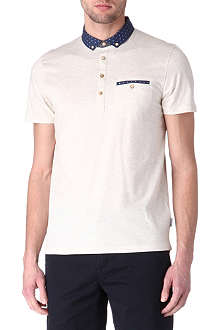TED BAKER Boat-collar polo shirt