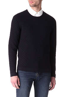TED BAKER Nathe textured jumper