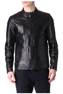 TED BAKER Birgin leather jacket