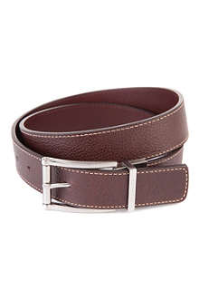 TED BAKER Casual reversible leather belt