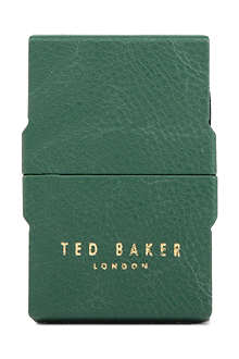 TED BAKER Pebbled card case
