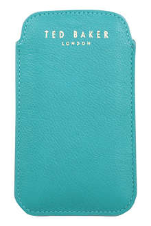 TED BAKER Pebbled phone case