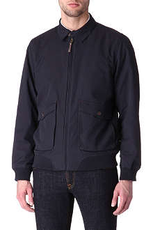 TED BAKER Stevo canvas bomber jacket