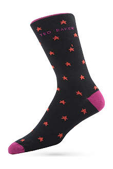 TED BAKER Star pattern socks
