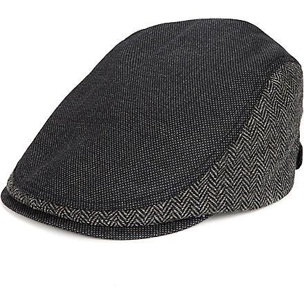 TED BAKER Tibbitt flat cap (Black