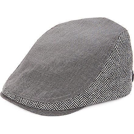 TED BAKER Tibbitt flat cap (Grey