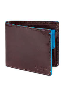 TED BAKER Theflux bifold painted edge wallet